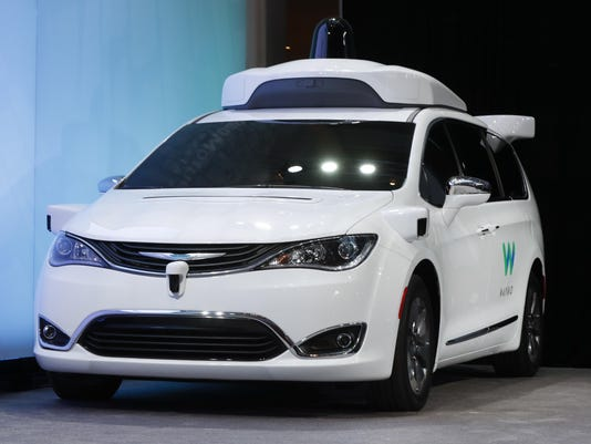 Waymo-Self-Driving Vans