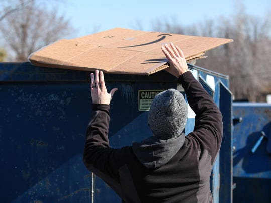 Consumers wrestle with deluge of cardboard boxes from delivery services, online shopping