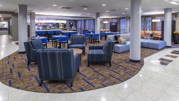 The Courtyard by Marriott in Prattville recently finished a $900,000 renovation.