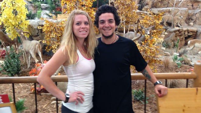 Sergio Valencia del Toro and his fiancee, Haylie Peterson.