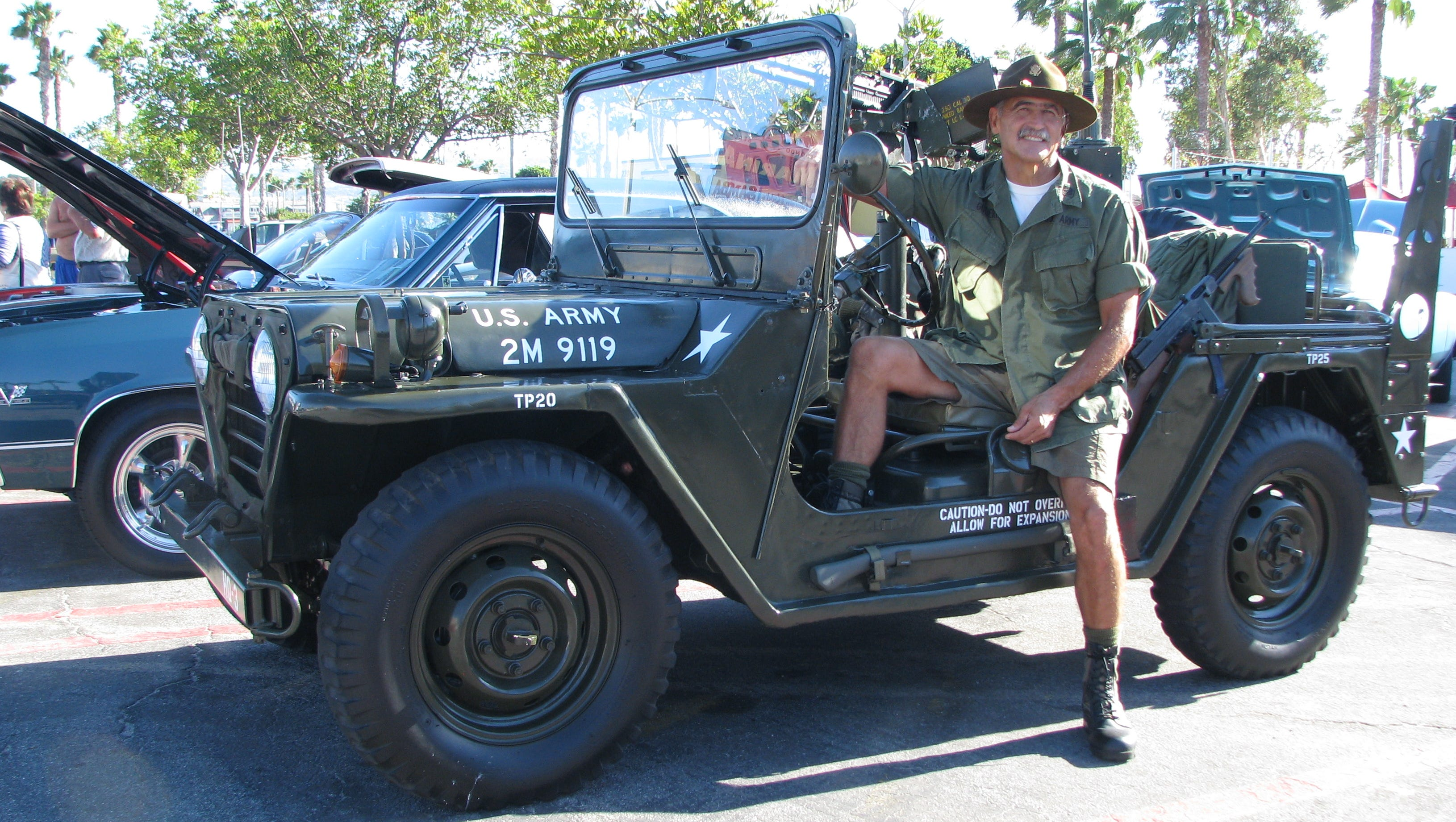 Just Cool Cars This Army Jeep Celebrates July 4 Every Day
