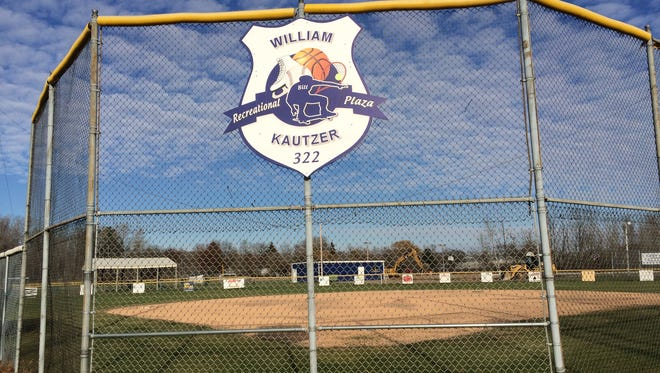 """The sports complex in Nekoosa where the new skate park will be located has been renamed the William """"Bill"""" Kautzer Recreational Plaza."""