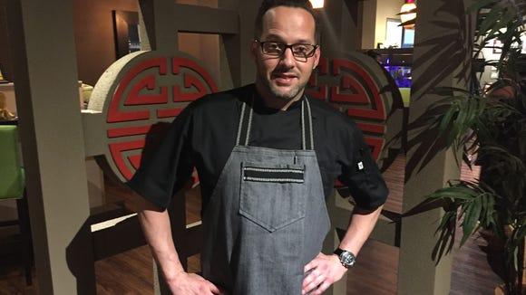 Chef Garrett Welch will prepare an East-meets-West