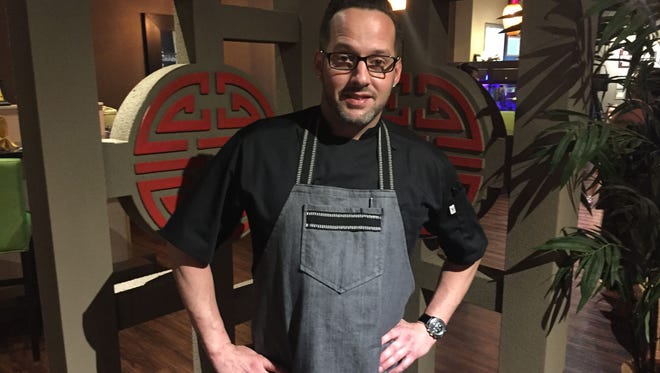 Chef Garrett Welch will prepare an East-meets-West fusion menu for the April 24 Suzy's Secret Supper at Red Ginger in Melbourne.
