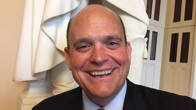 Republican Rep. Tom Reed of Corning at the U.S. Capitol on May 13, 2016
