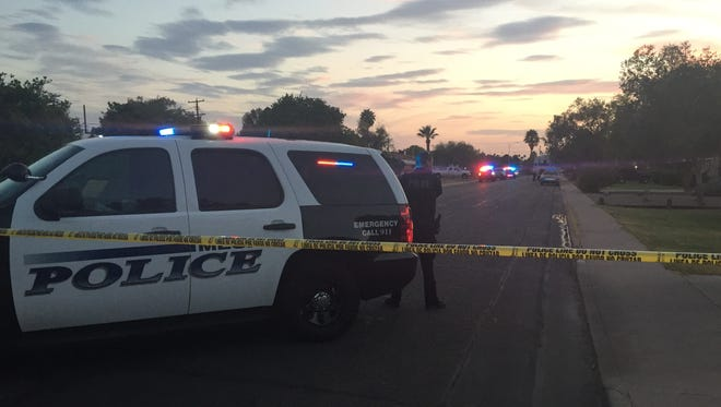 Mesa police are investigating a fatal shooting in the 900 block of East Sixth Place on June 21, 2016.