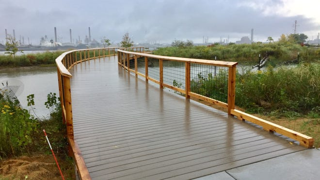 St. Clair County Parks and Recreation will celebrate on Sept. 27 the opening of a new interpretive boardwalk at the Wetlands County Park.