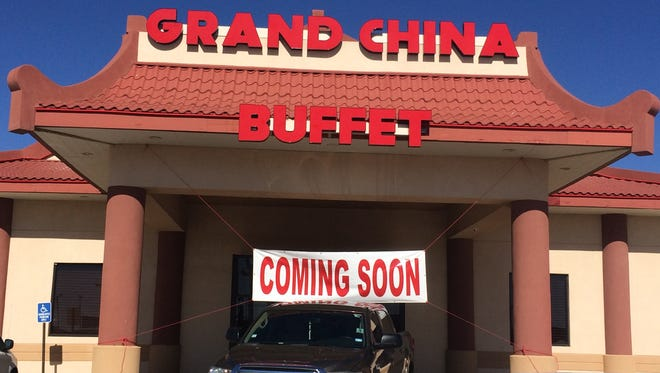 Grand China Buffet opens to San Angelo diners Friday