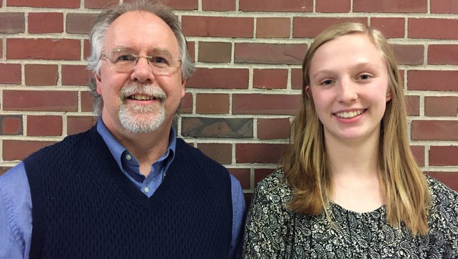 Kohler student Cecelia Zielke, along with Kohler teacher Matthew Bayens, will begin a year-long course of study that concludes with a journey to Normandy, France to honor a WWII Silent Hero who died during or after the Normandy Invasion.