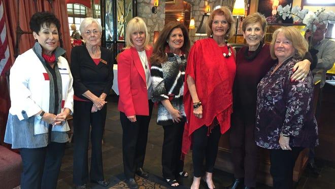 Friends of Hidden Harvest Board L-R: Barbara Stenzler, Mim Roth, Susan Reilly, Nancy Skonezny, Carol Glickman, Patti Sulzbach.Not pictured: Loni Argovitz, Phyllis Eisenberg, Amy Ashmann and Marianne Bouldin