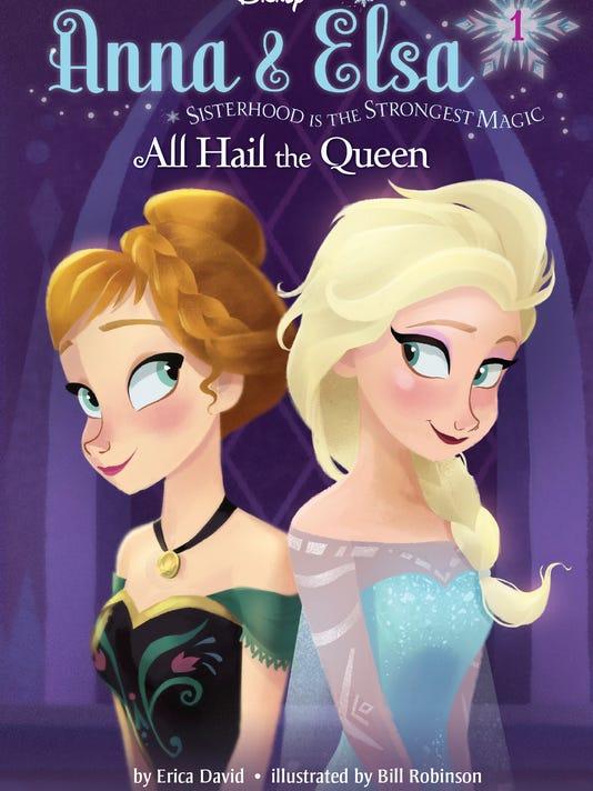 Disney Anna and Elsa #1