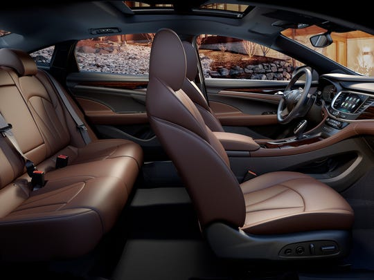 The all-new 2017 Buick LaCrosse interior.