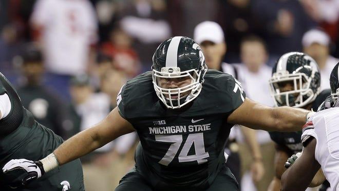 Michigan State's Jack Conklin