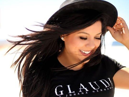 Johana Hernandez will show her Glaudi brand of bridal