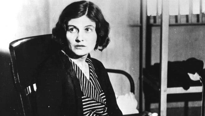 Winnie Ruth Judd, pictured in 1931, spent three decades in an Arizona mental hospital.