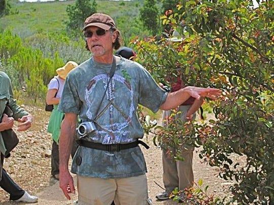 Ojai's Lenny Kaufer will lead an herb walk on Sunday.