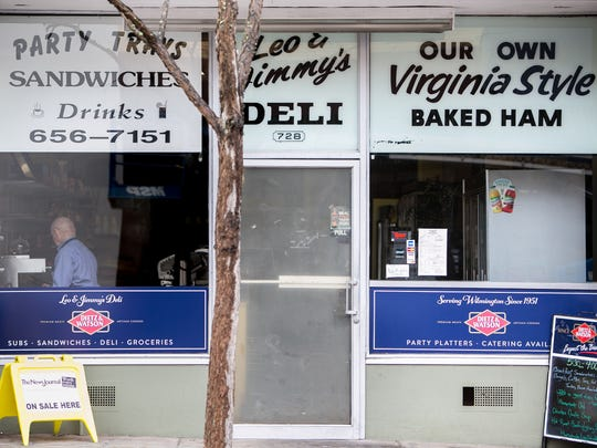 Barbara Hackett, owner of Leo & Jimmy's Delicatessen on Market Street in downtown Wilmington will close it's doors May 5th after being in business for 87 years.