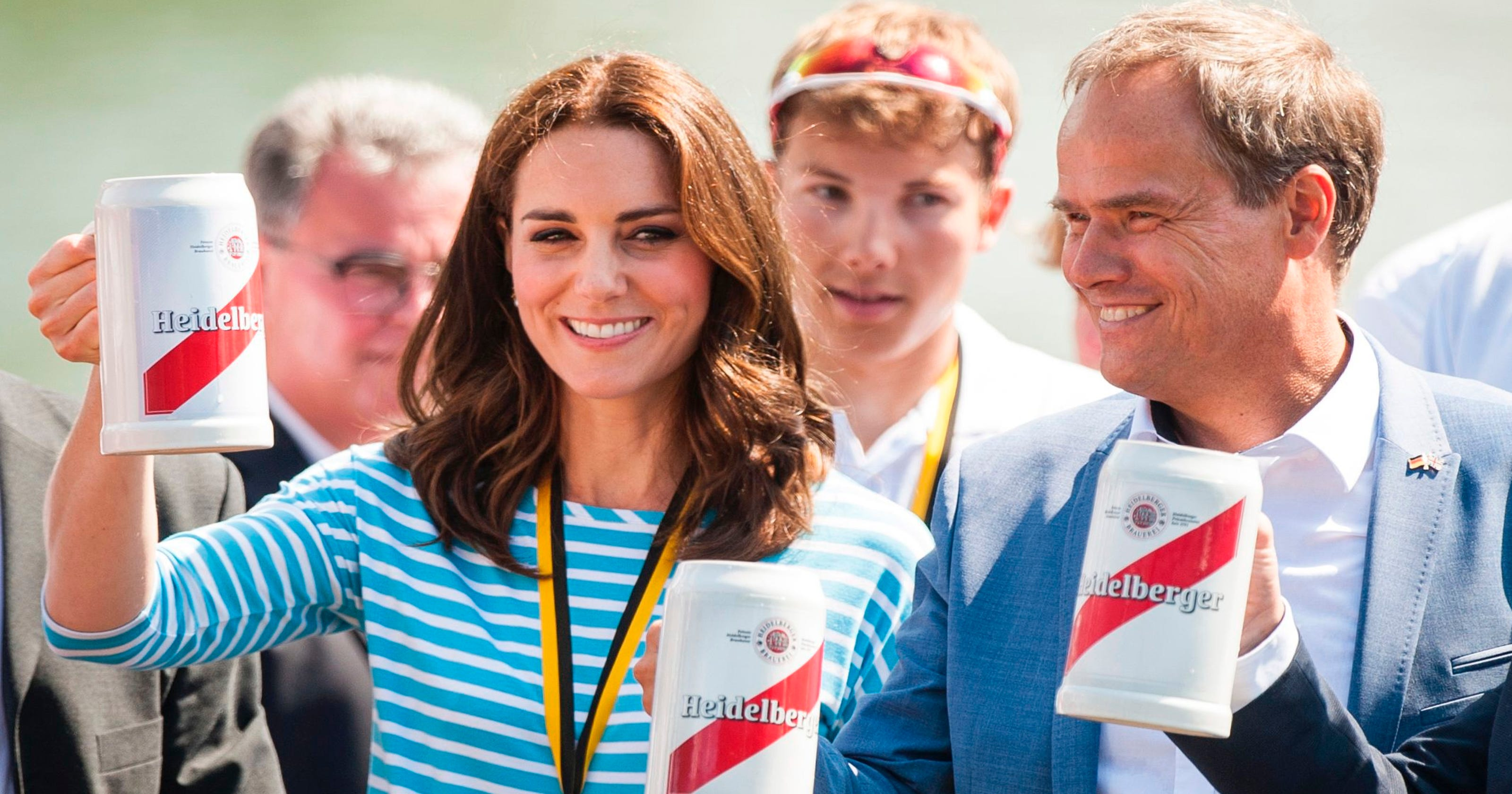 Will And Kate In Heidelberg Beer Pretzels And A Rowing Rivalry