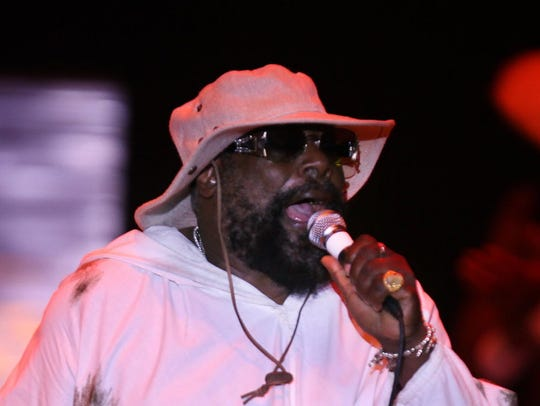 George Clinton and Parliament Funkadelic perform at