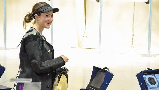Sarah Beard set a new range record with her qualification score on the first day of competition. She went on to win second overall in the 60 Shot Open and Super Final matches