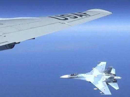 United States Russia Jet