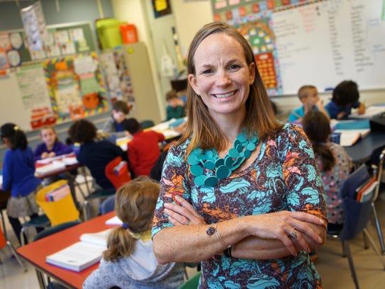 Mount Pleasant second-grade teacher Wendy Turner was
