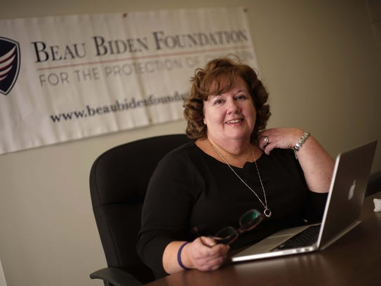 Patty Dailey Lewis, director of the Beau Biden Foundation.