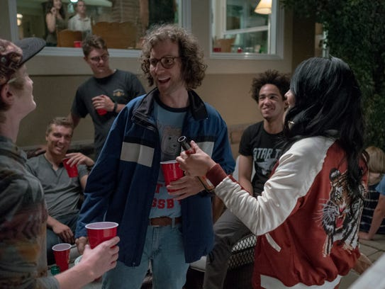 As an adult, James Pope (Kyle Mooney) still seeks comfort