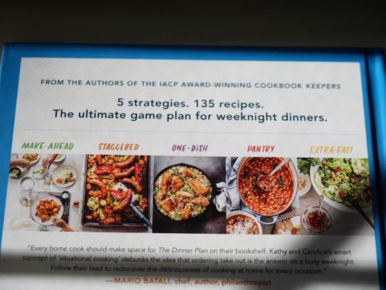 """Kathy Brennan, a Hockessin resident, recently co-authored a book called The Dinner Plan, """"Simple weeknight recipes and strategies for every schedule""""."""