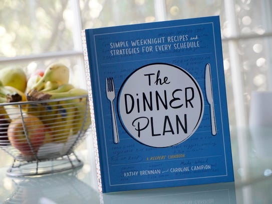 """Kathy Brennan, a Hockessin resident, recently co-authored a book called """"The Dinner Plan, Simple weeknight recipes and Strategies for every schedule""""."""