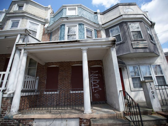 A property at 103 Oak St. where trainees in the Interfaith Community Housing of Delaware's HomeWorks program, a pre-apprenticeship program for construction training, worked during their training.