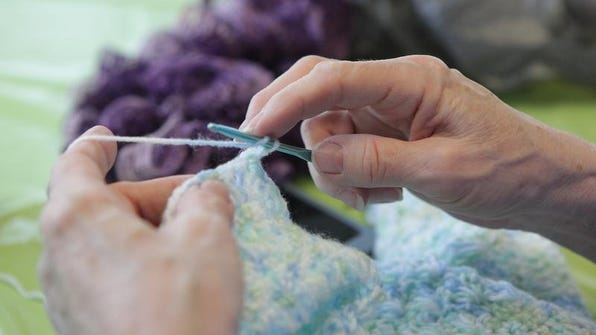 'Crochet Anyone?' will be offered from 1 p.m. to 3 p.m. Feb. 19 at the Mount Laurel Library.