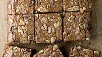 Nutella brownies are super easy to make