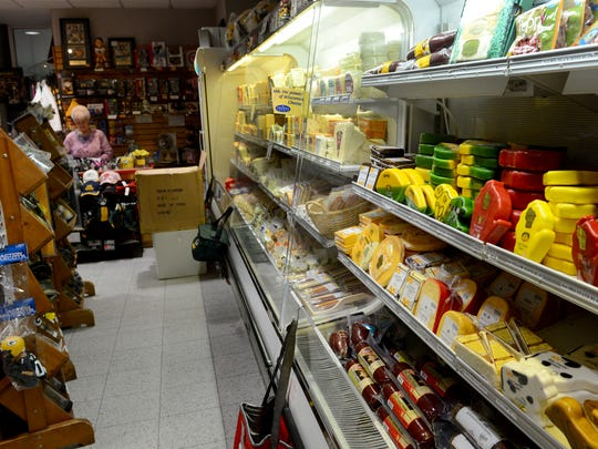 Jack Hill owns and operates A Taste of Northern Wisconsin Cheese Shop (pictured) and the Airport Gift Shop at Austin Straubel International Airport.