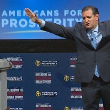 Sen. Ted Cruz (R-Texas) addressed the Defending the American Dream summit in Dallas on August 30, 2014.