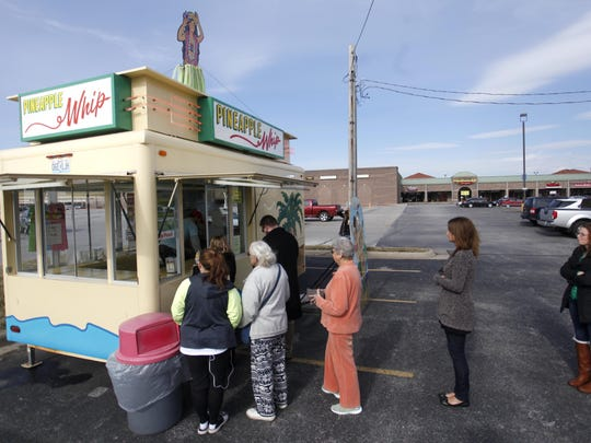 Pineapple Whip is open for five days starting Wednesday for its sixth annual Whip Solstice event, for those who just can't wait for summer to have one of the frozen treats.