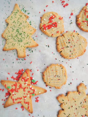 Christmas cookies don't have to be fancy to be good.