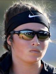 South Side pitcher Kayla Beaver