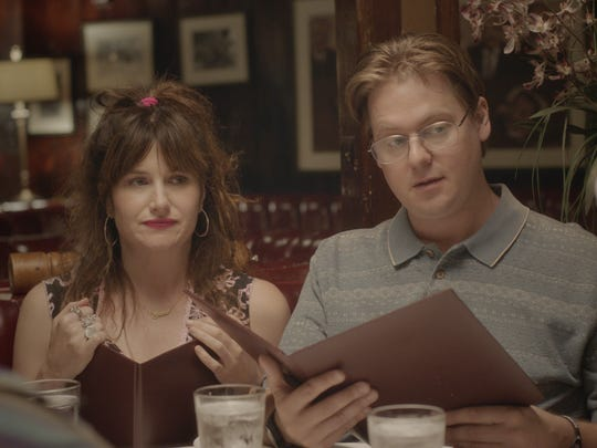 "Kathryn Hahn and Tim Heidecker star in ""Flower."""
