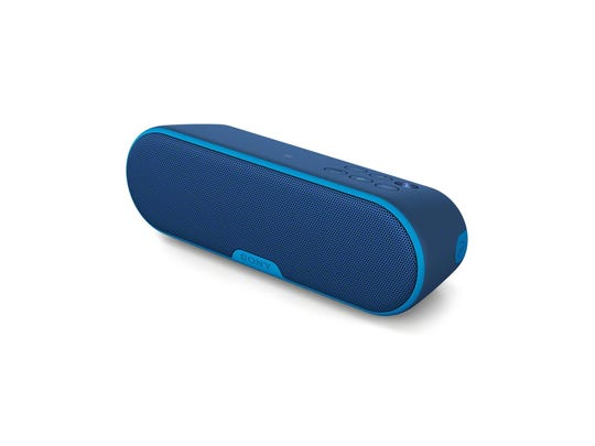 The Sony SRS-XB2 is a portable, powerful, IPX5 water-resistant audio system for any Bluetooth-enabled device.