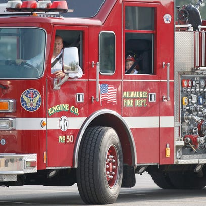 Dozens of firefighters respond to office fire in Brookfield