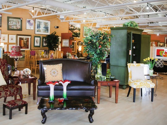 This is a look in Designer Consignor,  a resale furniture store that is located at 29764 Woodward Ave. in Royal Oak. Photographed Tuesday, Feb. 9, 2016. 