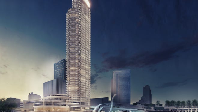 A late fall construction start is expected for The Couture apartment high-rise.