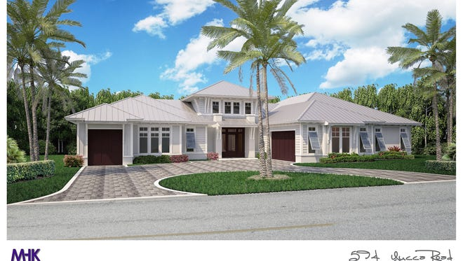 Clive Daniel Home was selected to provide furnishings for this Belz custom home in Coquina Sands.