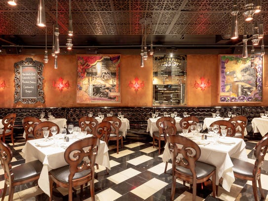 The dining room at The Continental on Third Street