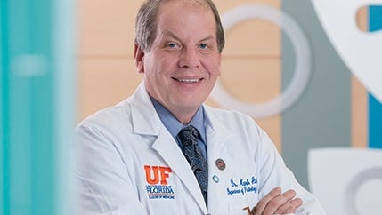 Mark Atkinson, Ph.D., is the director of the University of Florida Diabetes Institute.