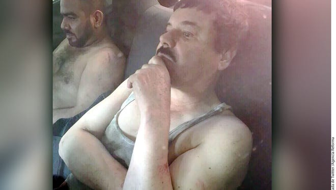Before being captured, 'El Chapo' intended to use sewer systems to escape in Las Colonias Scally and Las Palmas de Los Mochis in Mexico.