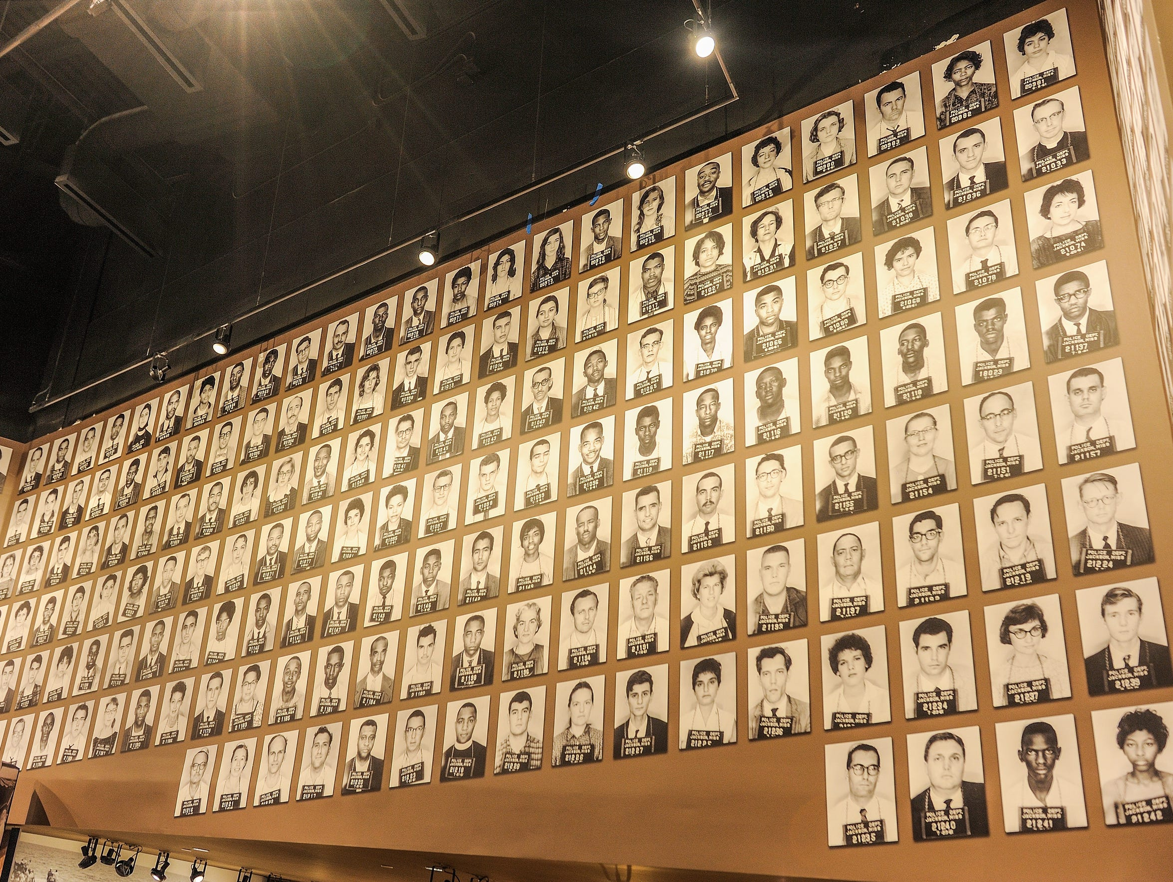 An exhibit at the Mississippi Civil Rights Museum,