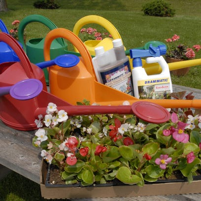 The Dramm Corporation in Manitowoc makes garden watering tools, fertilizers and accessories for plants.