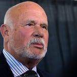 Peter Karmanos, majority owner and chief executive officer of the Carolina Hurricanes and Florida Everblades hockey franchises, attends the Allen & Company Sun Valley Conference with Danialle Karmanos on July 8, 2015 in Sun Valley, Idaho.